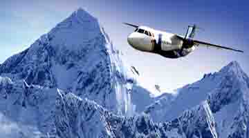 Mountain flight booking