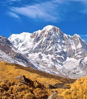 Annapurna base camp hiking