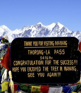 annapurna circuit hiking holiday