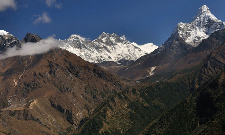 mount everest panorama trek