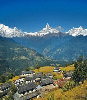 Annapurna view dhampus hill