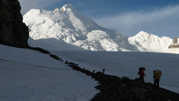 Saribung expedition itinerary