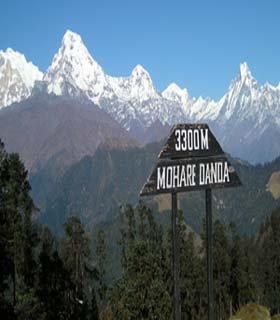 Nagi Narchyang with Mahare Danda trekking