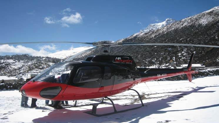 trekking insurance with helicopter rescue