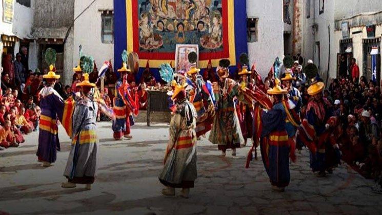 Tiji festival trek upper Mustang