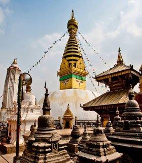 Kathmandu city Buddhist pilgrimage day tour