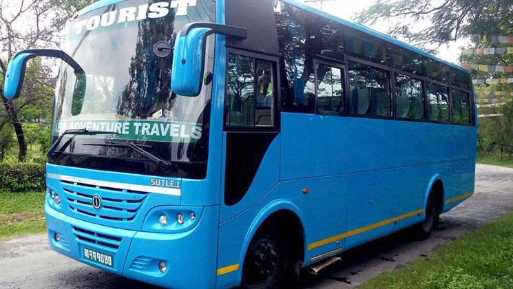 Tourist bus service booking