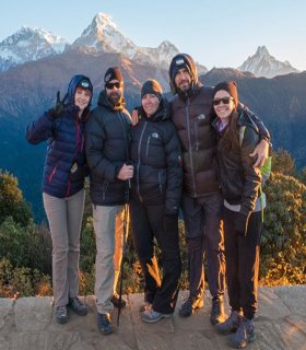 Nepal walking multi day tour