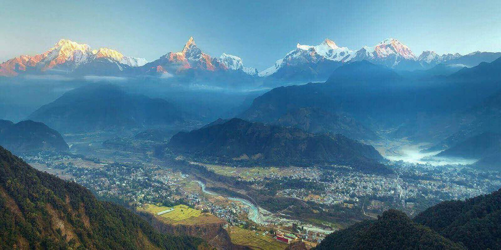 Nepal walking tour travel package