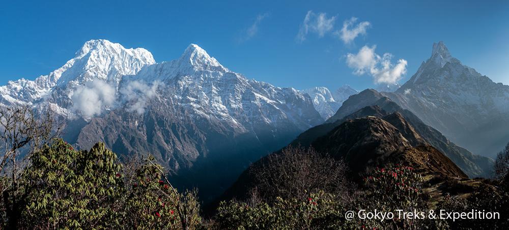 soft adventure trek nepal