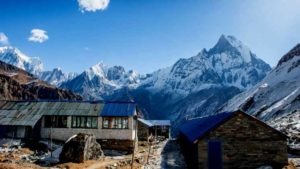 how difficult is it trekking to Annapurna base Camp