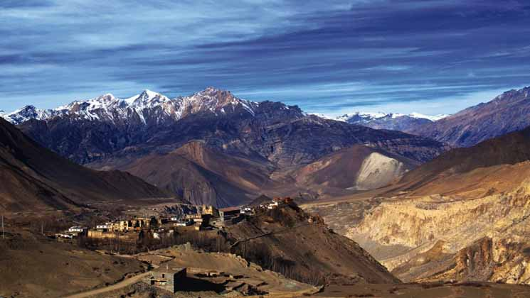 Lower mustang trekking in nepal for beginners