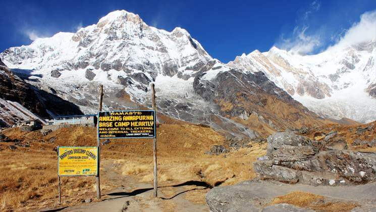 annapurna base camp best beginner treks in Nepal