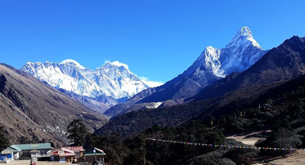 Everest hiking