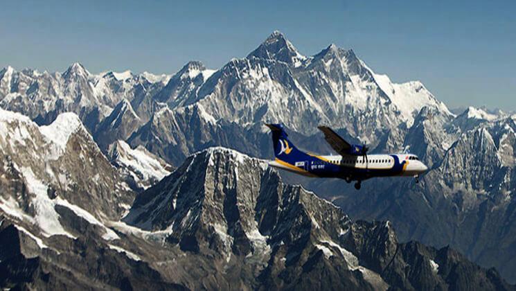 Everest mountain flight in Nepal ticket booking