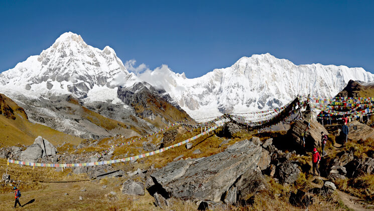 annapurna base camp and mardi himal trek combined