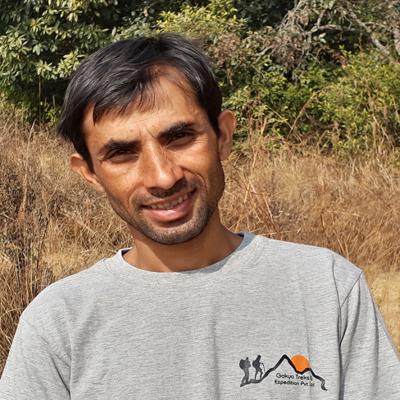Arjun Paudel - Langtang trek guide