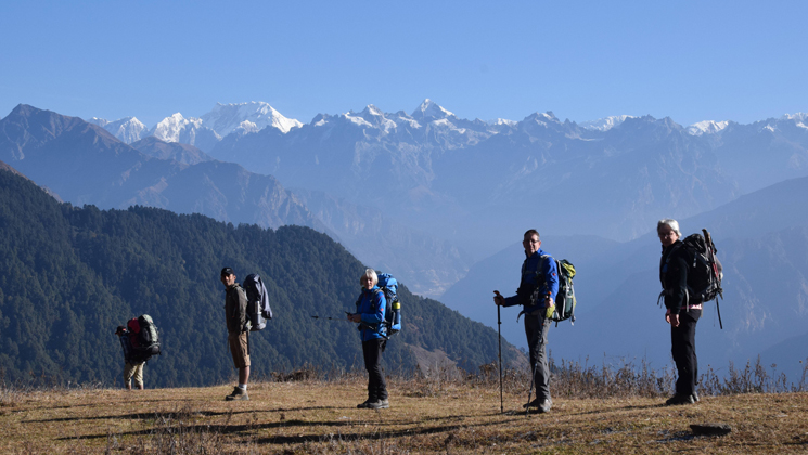 langtang panorama trek itinerary and guide