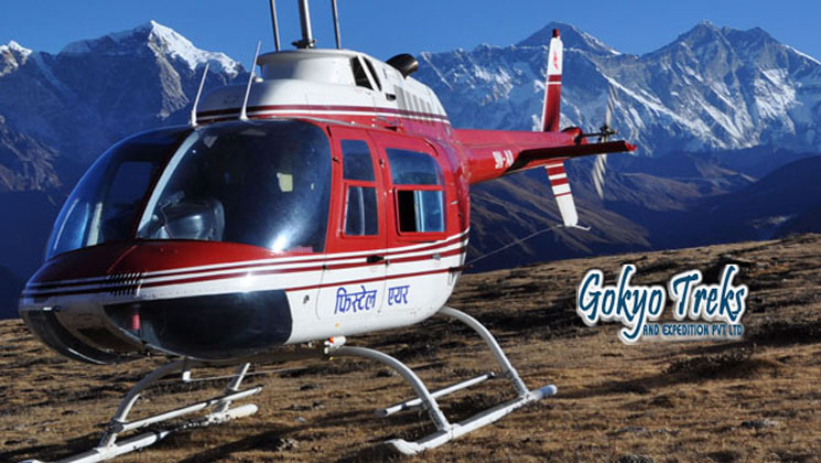 Everest Base Camp Trek with Helicopter Return