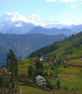 panchase easy treks in nepal
