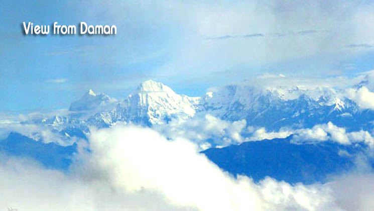 Daman hiking tour package cost
