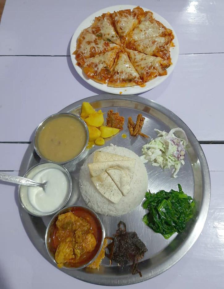hiking foods in Nepal