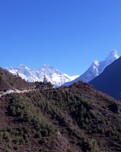 Everest base camp lodge trek