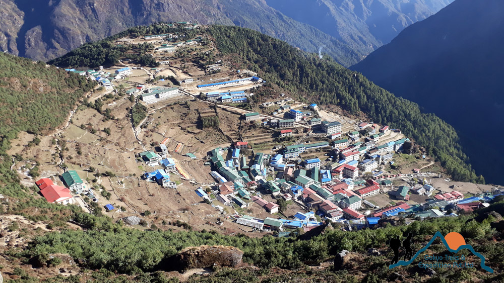 Namche bazaar, Everest