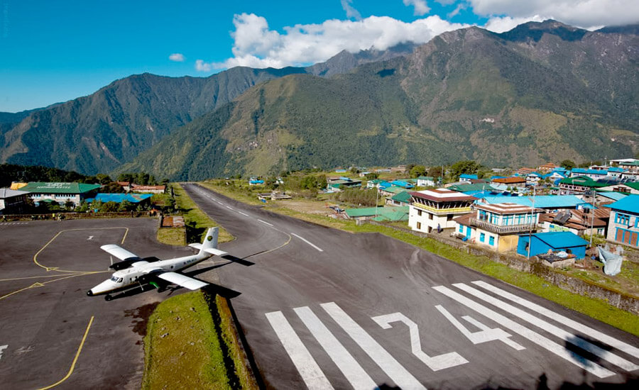 Lukla airport flight