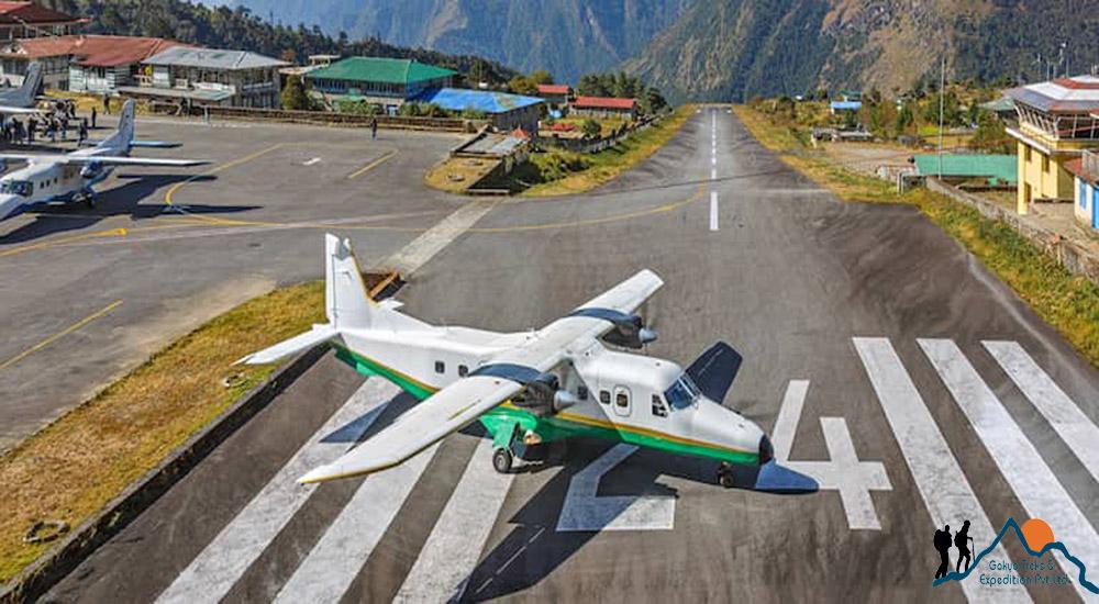 lukla - kathmandu flight