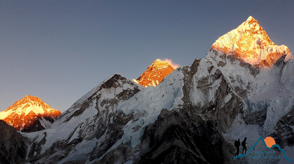 kala patthar sunrise view