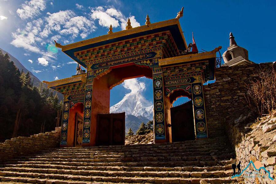 manaslu monastery
