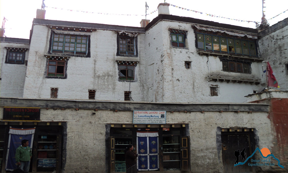 lo manthang royal palace