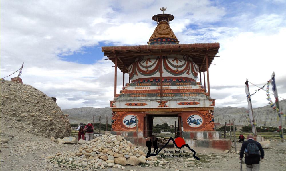 Charang - Tsarang village