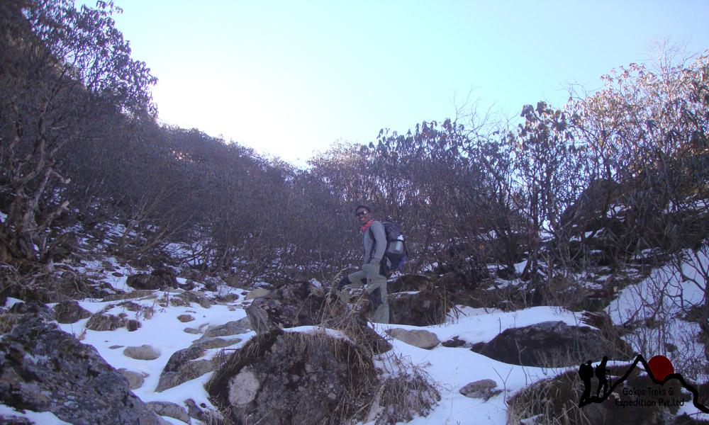 Ghopte vir hiking