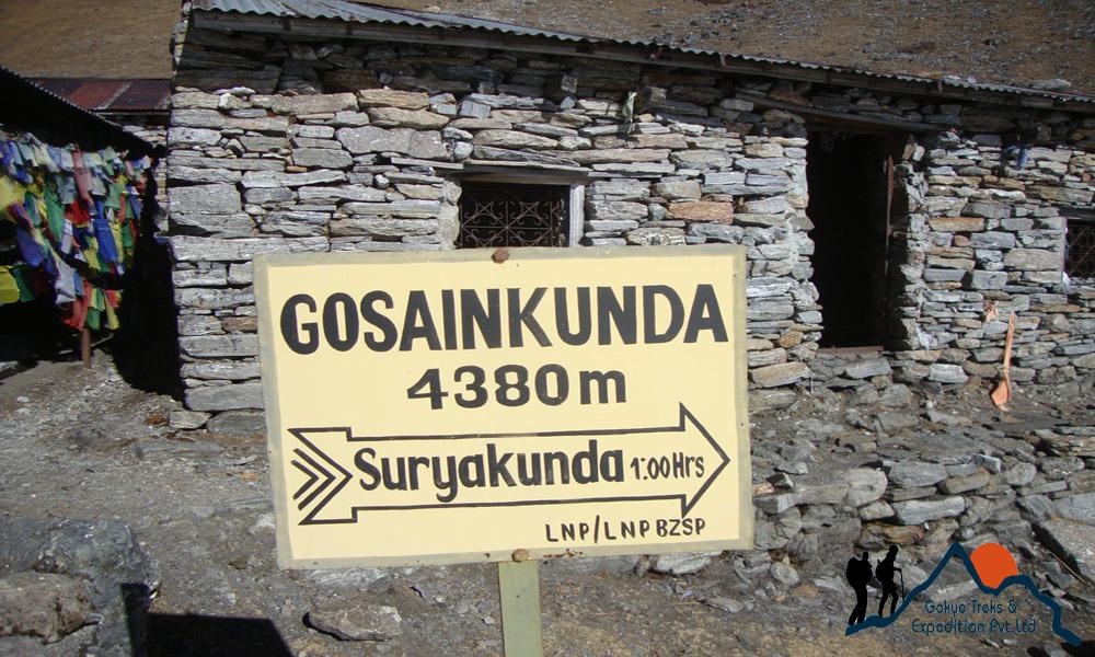 Gosaikunda tour