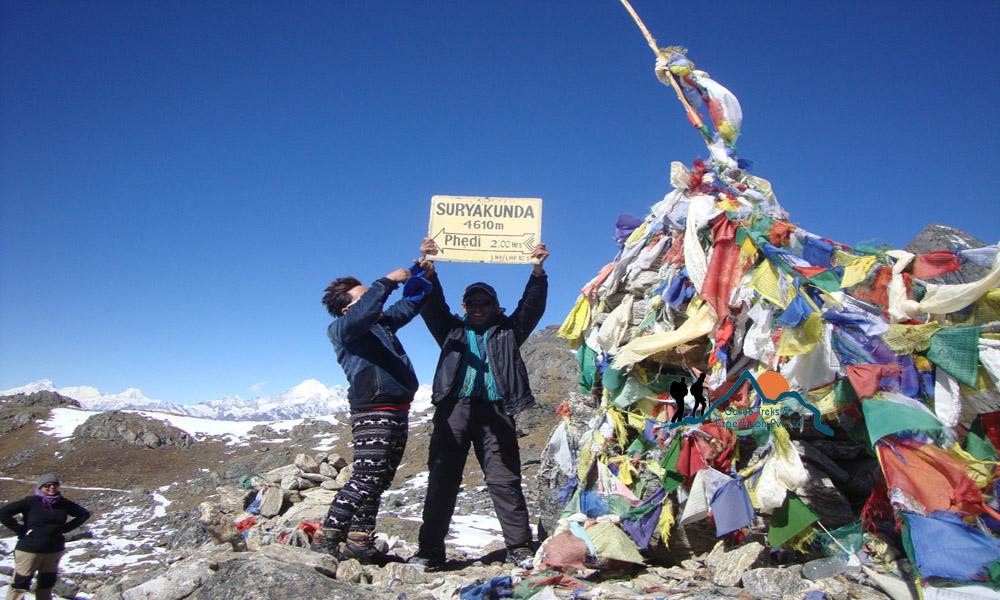 Surya Kunda pass treks