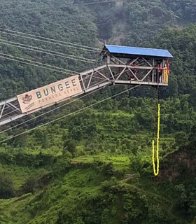 Bungee jump tour package