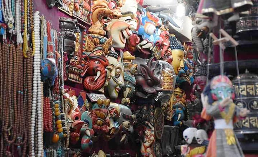 shopping in thamel markets
