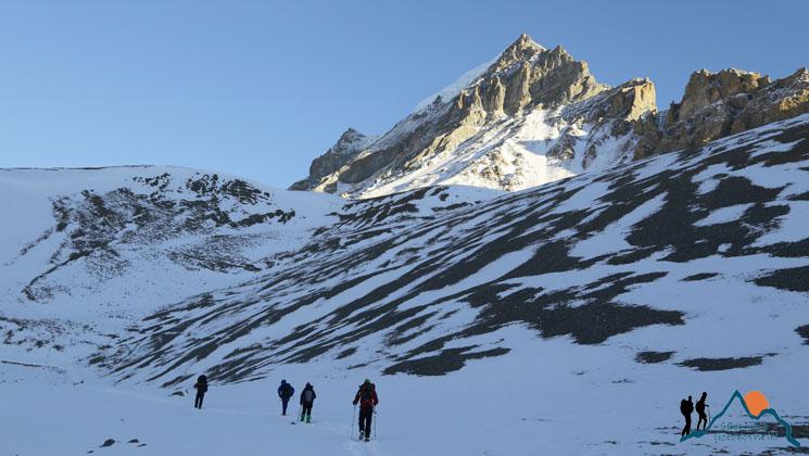 Seven pass trek