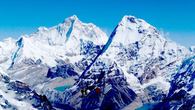 Makalu mountain expedition