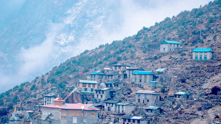 Beding village, Tsho rolpa